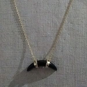 Stella & Dot horn Necklace
